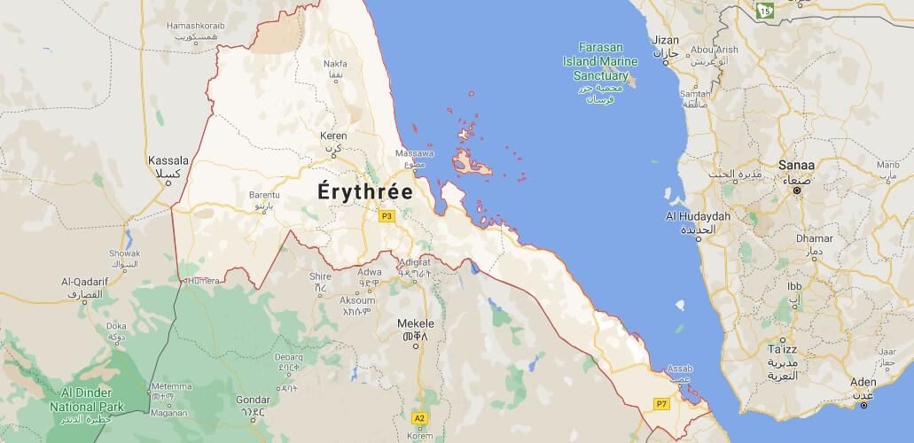 Quelle est la capitale de l-Érythrée