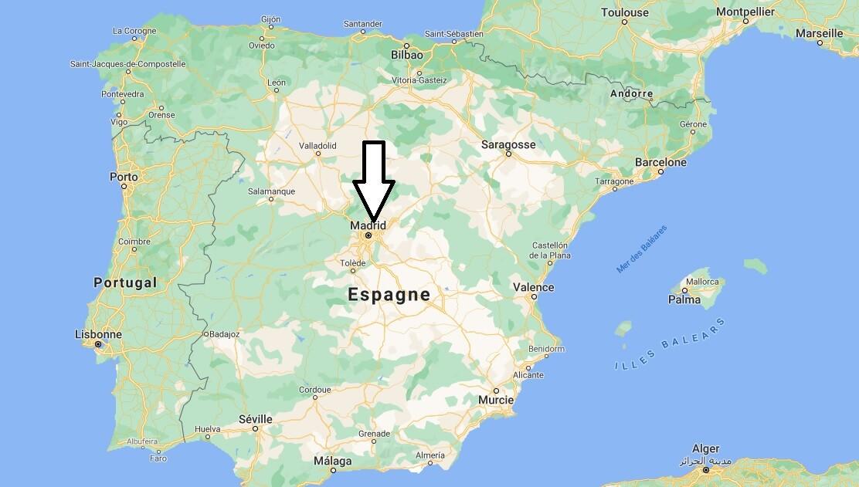 Quelle est la capitale de l-Espagne