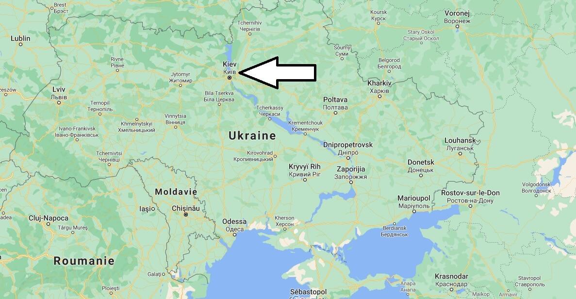 Quelle est la capitale de l-Ukraine