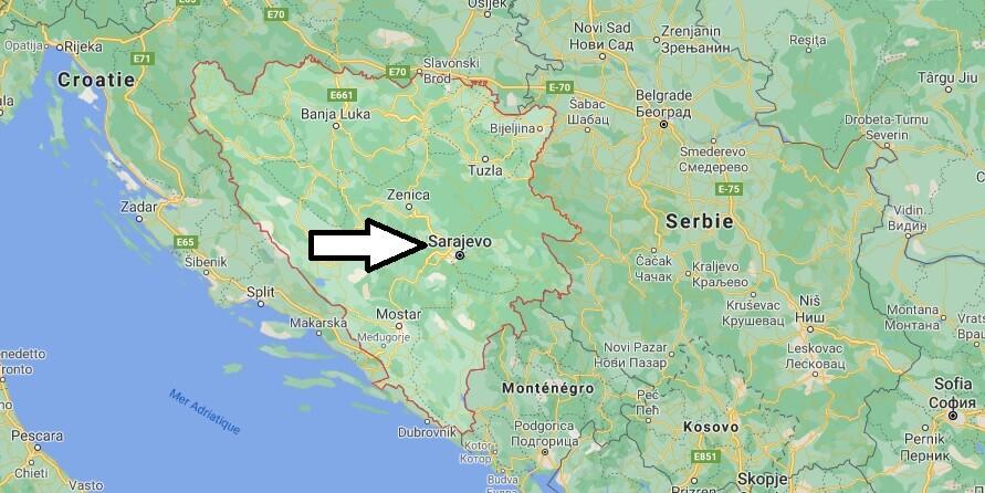 Quelle est la capitale de la Bosnie