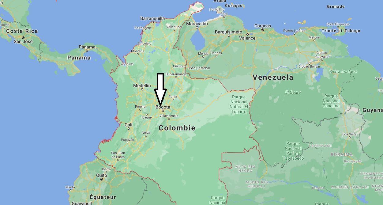 Quelle est la capitale de la Colombie