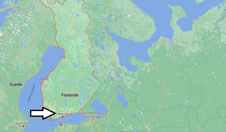 Quelle est la capitale de la Finlande