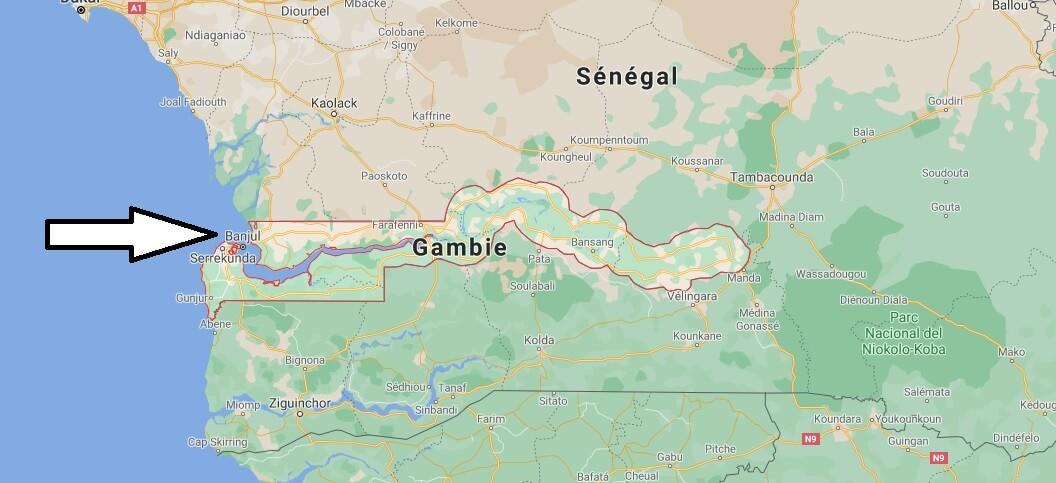 Quelle est la capitale de la Gambie