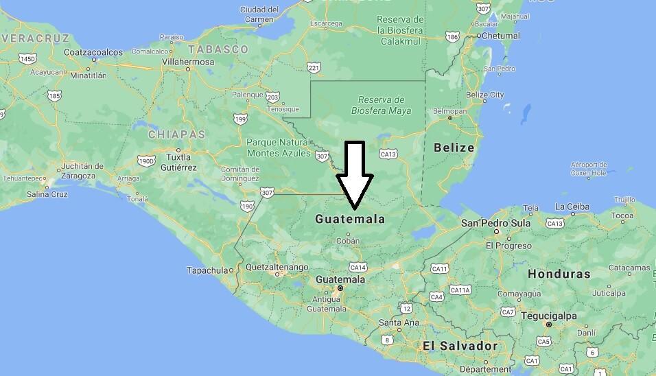 Quelle est la capitale de la Guatemala