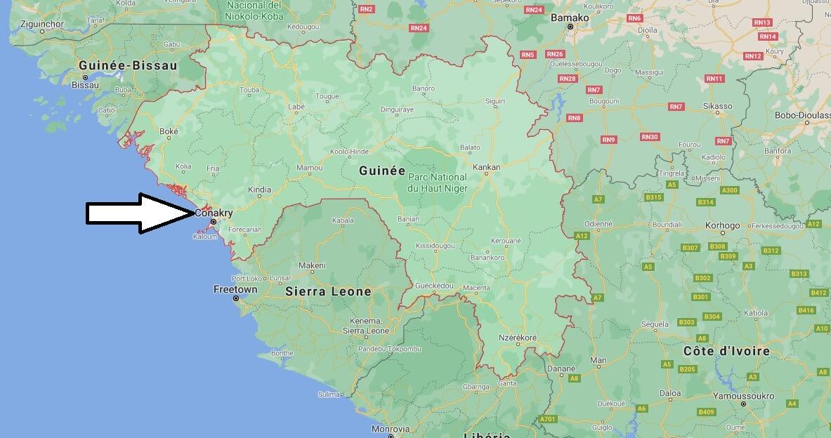 Quelle est la capitale de la Guinée