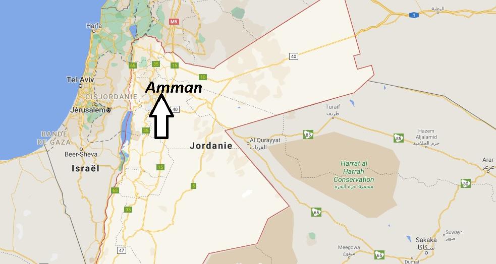 Quelle est la capitale de la Jordanie