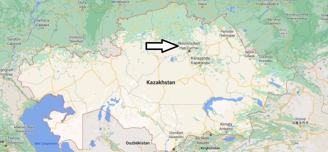 Quelle est la capitale de la Kazakhstan