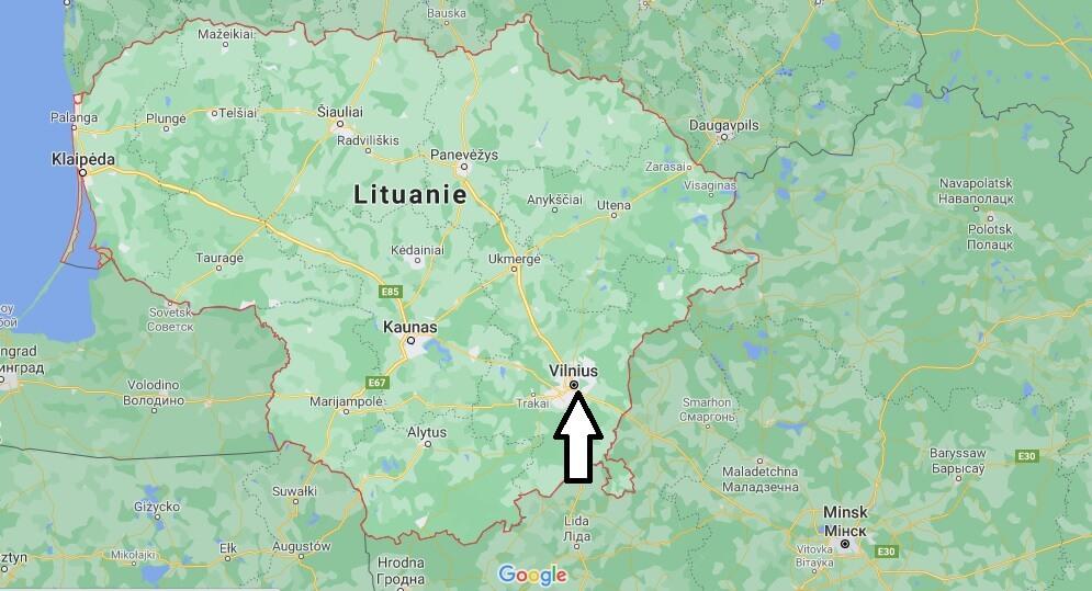 Quelle est la capitale de la Lituanie