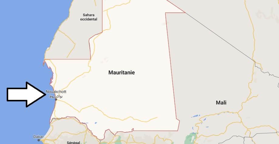 Quelle est la capitale de la Mauritanie