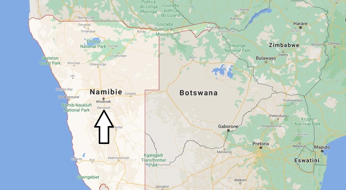 Quelle est la capitale de la Namibie