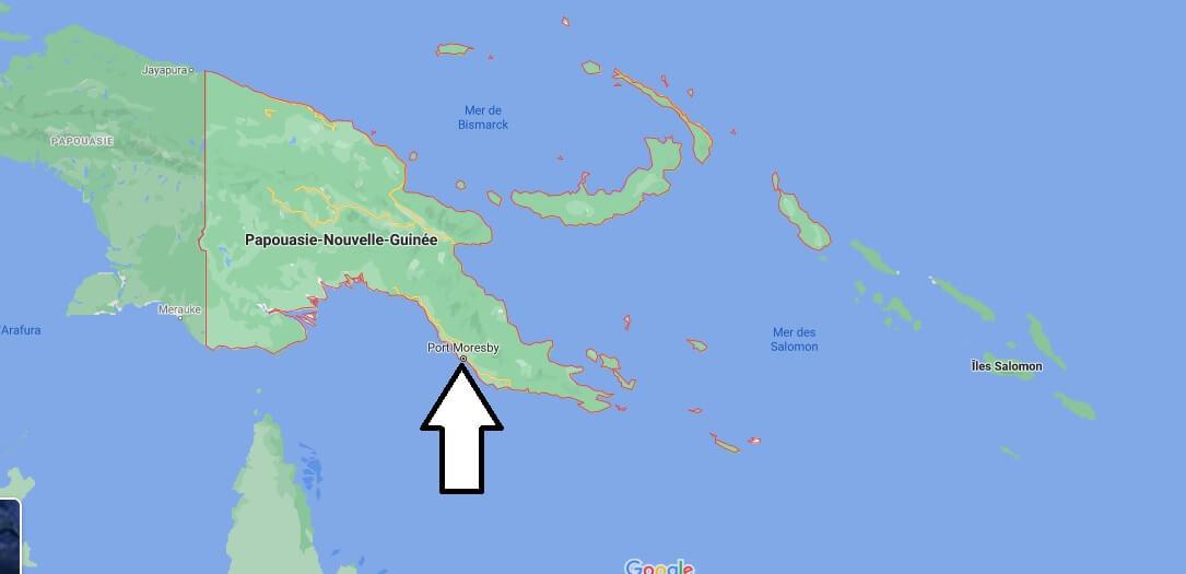 Quelle est la capitale de la Papouasie Nouvelle Guinée