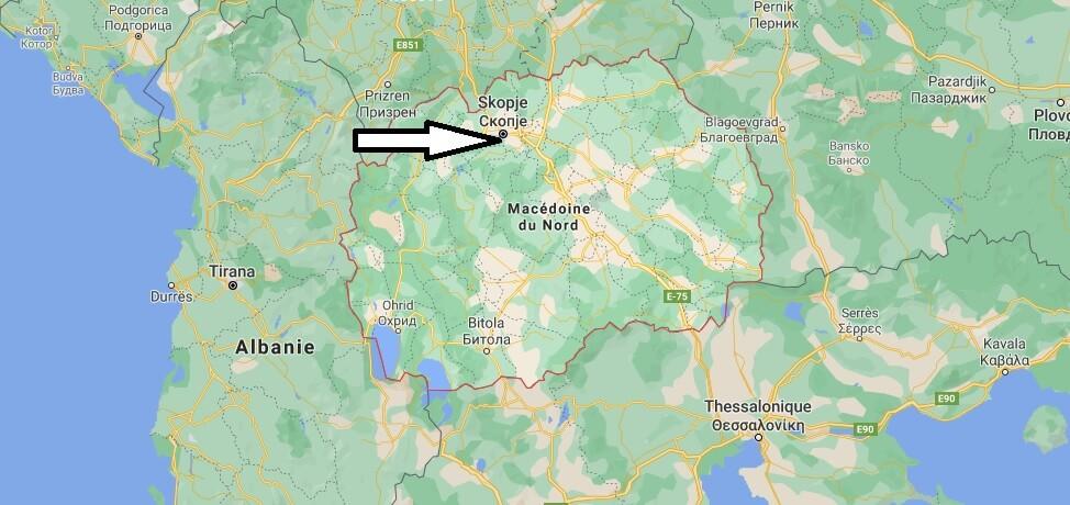Quelle est la capitale de la République de Macédoine