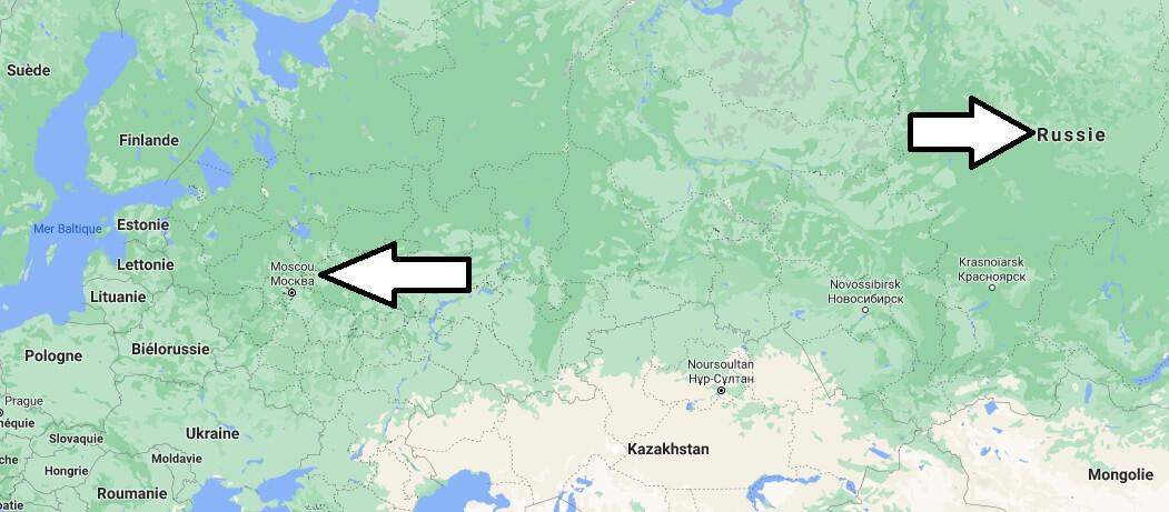 Quelle est la capitale de la Russie