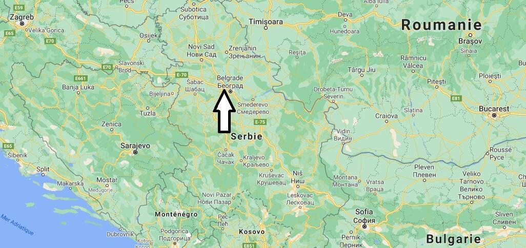 Quelle est la capitale de la Serbie