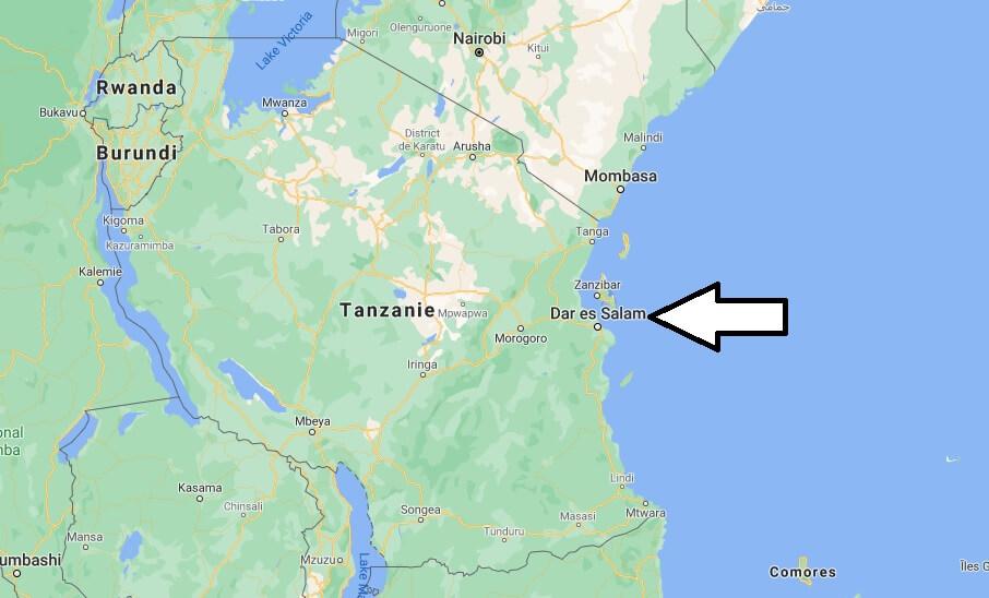 Quelle est la capitale de la Tanzanie
