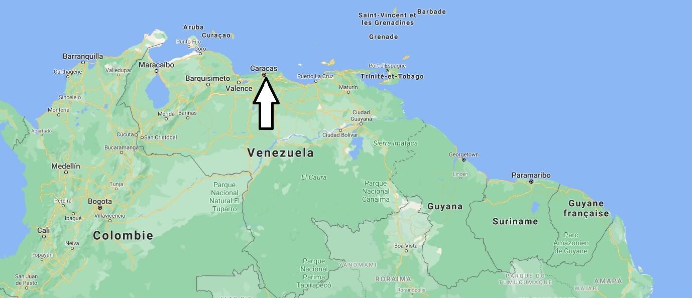 Quelle est la capitale de la Venezuela