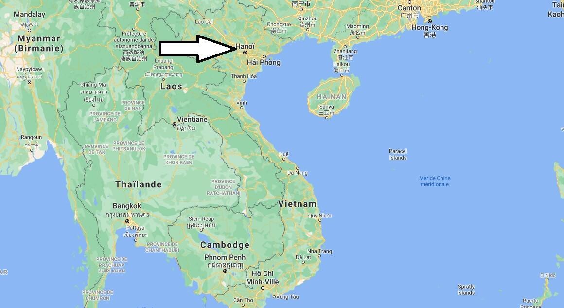 Quelle est la capitale de la Vietnam