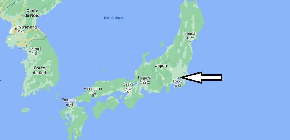 Quelle est la capitale de le Japon