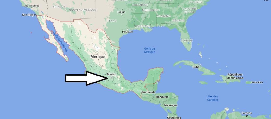 Quelle est la capitale de le Mexique