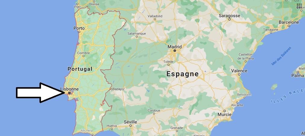 Quelle est la capitale de le Portugal