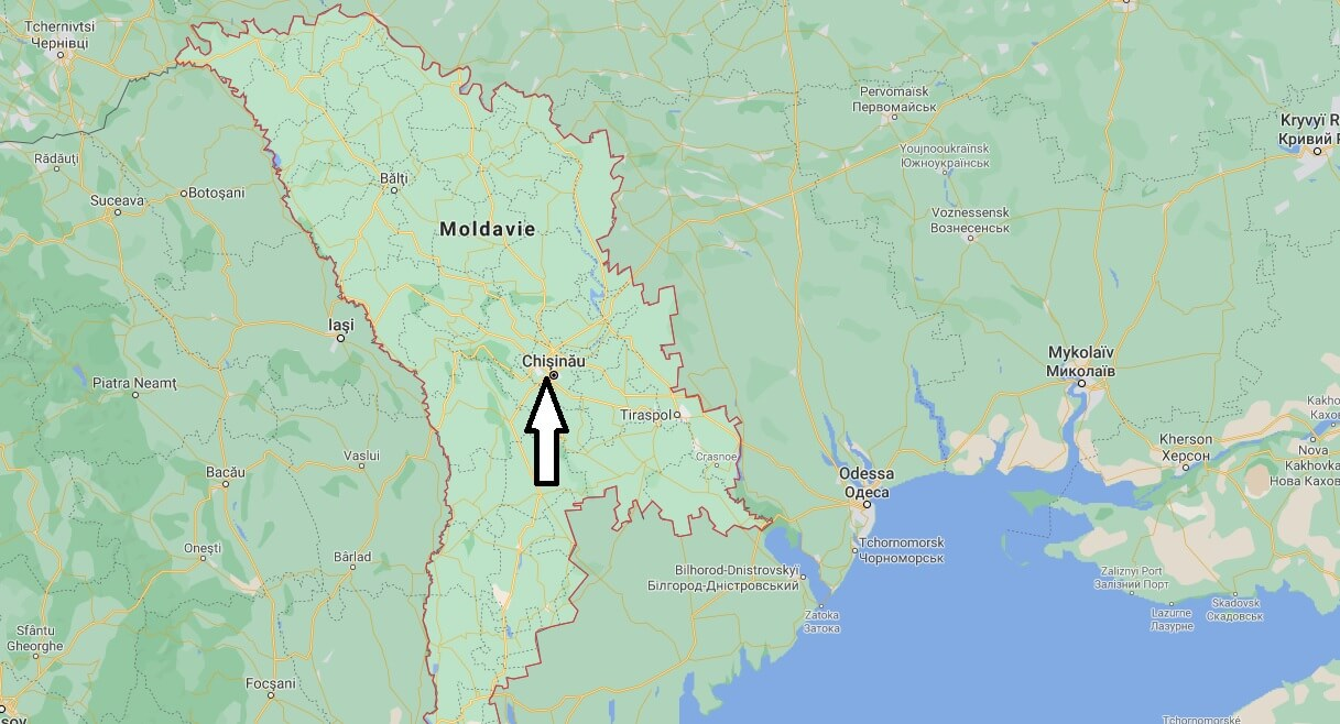 Quelle est la capitale des la Moldavie