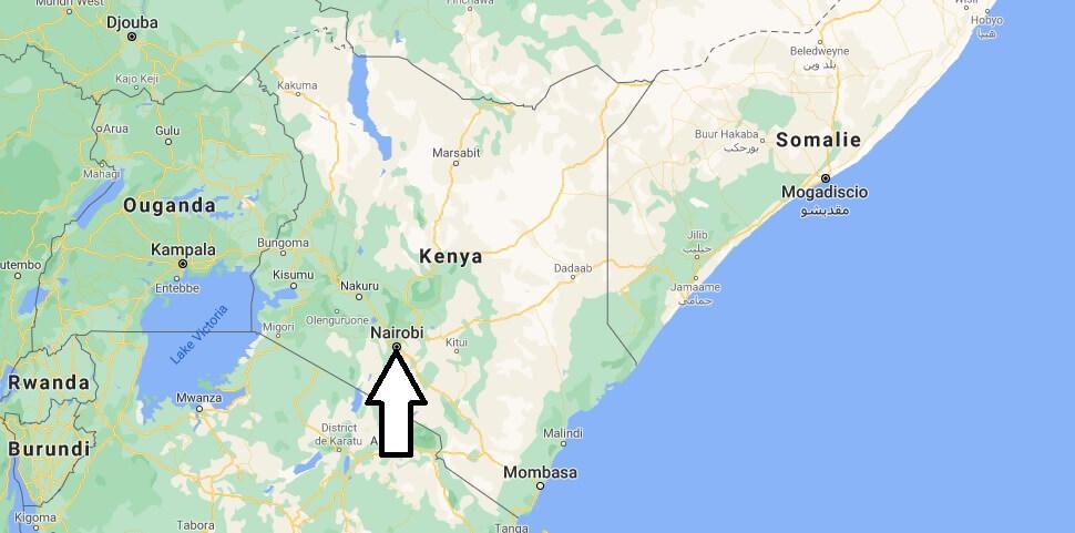 Quelle est la capitale du Kenya