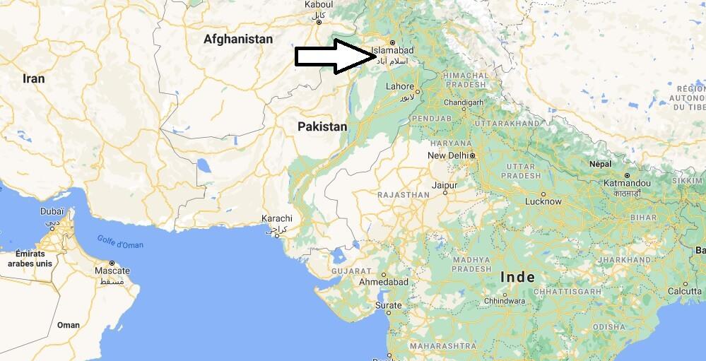 Quelle est la capitale du Pakistan