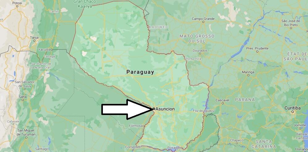 Quelle est la capitale du Paraguay