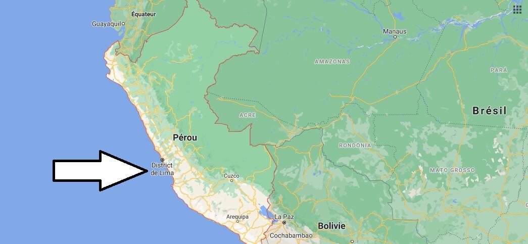 Quelle est la capitale du Pérou