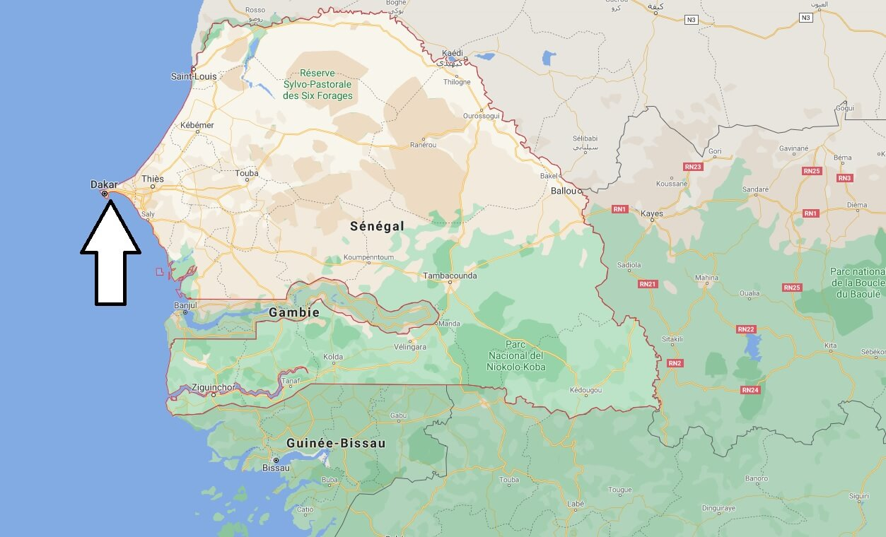Quelle est la capitale du Sénégal