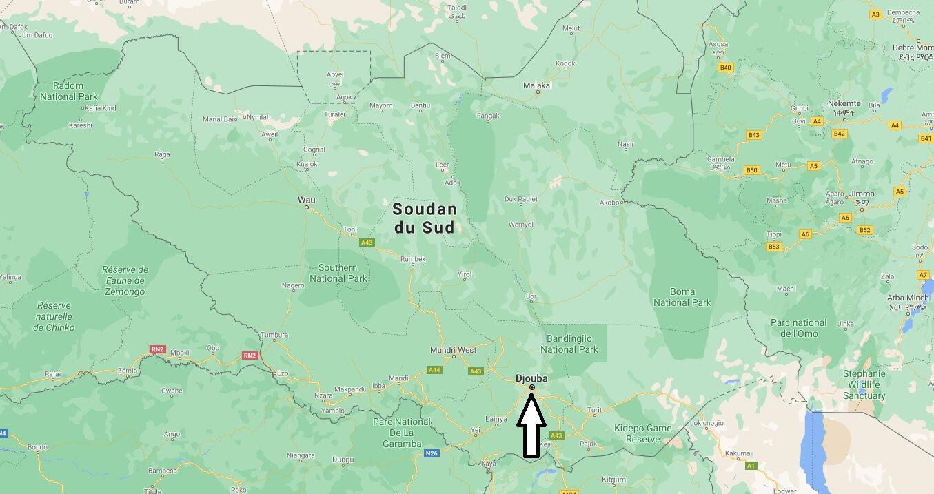 Quelle est la capitale du Soudan du Sud