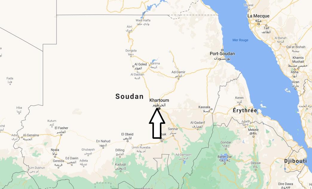 Quelle est la capitale du Soudan
