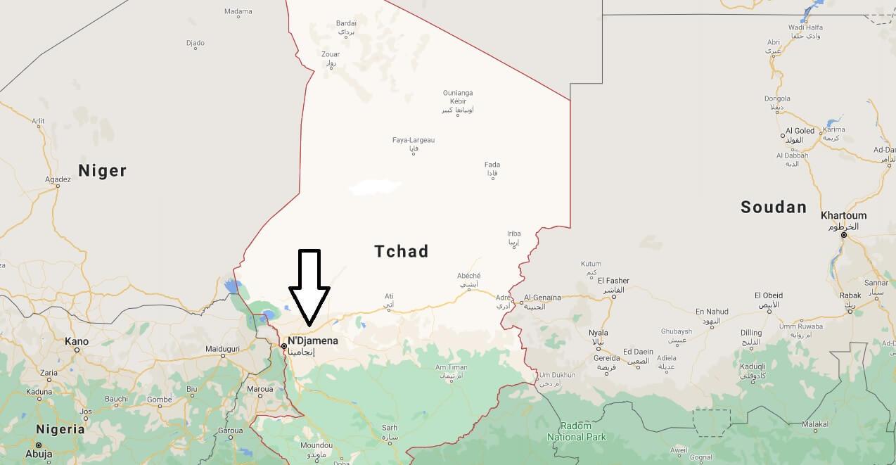 Quelle est la capitale du Tchad