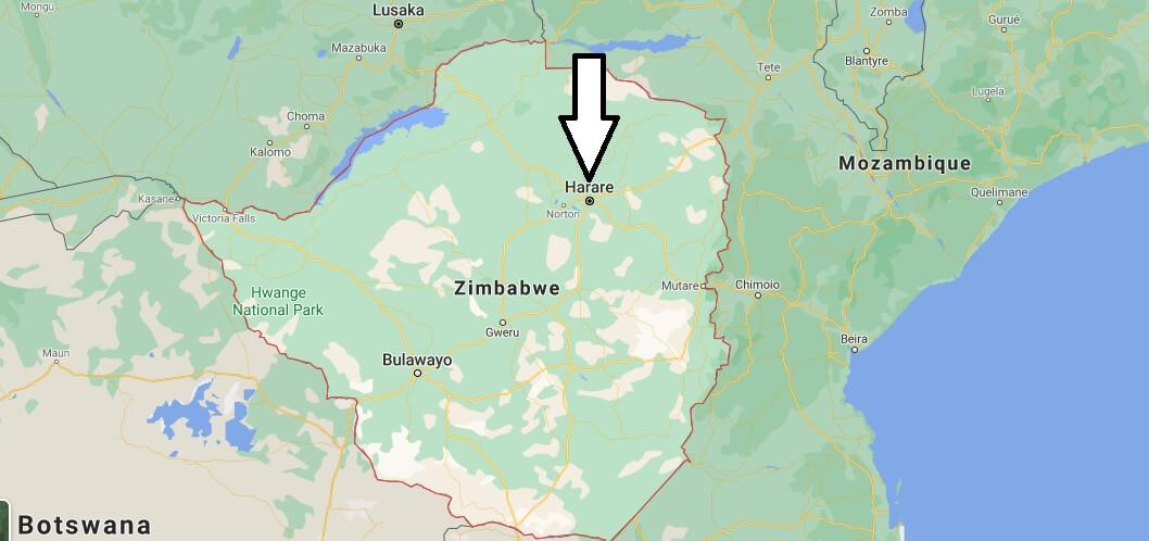 Quelle est la capitale du Zimbabwe