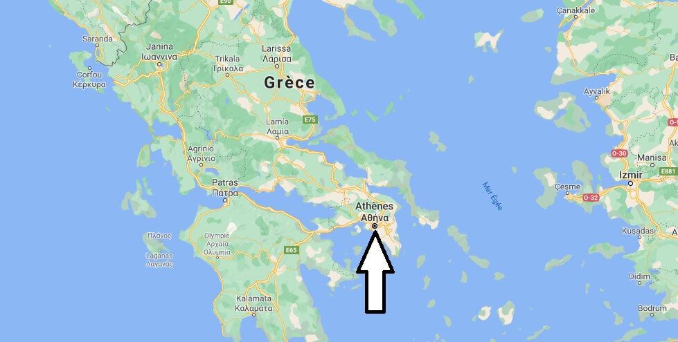 Quelle est la capitale la Grèce