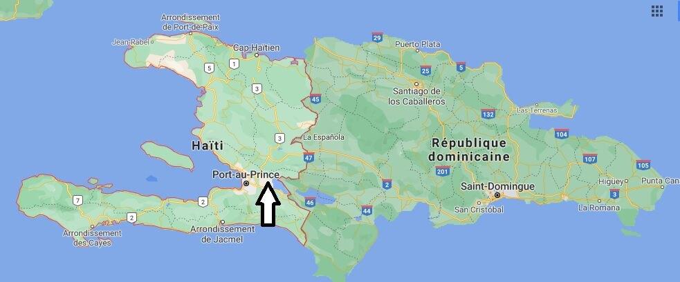Quelle est la forme d Haiti