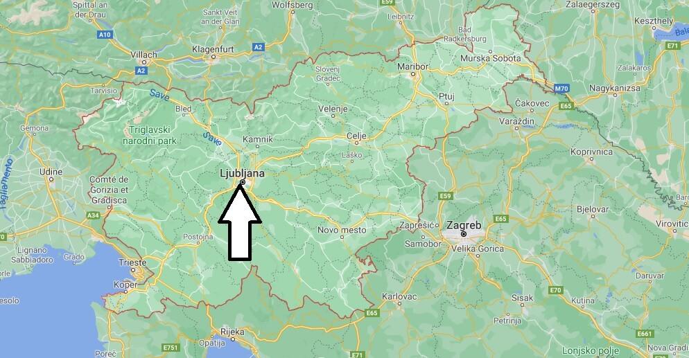 Quelle ville est la capitale de la Slovénie
