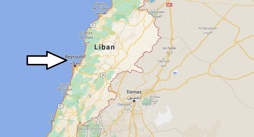 Quelle ville est la capitale du Liban