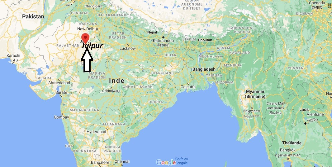 Dans quel pays est Jaipur