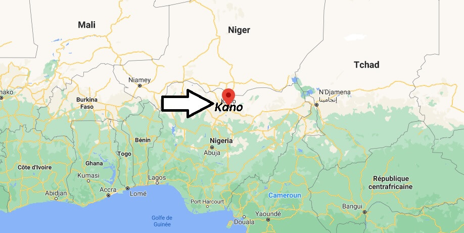 Dans quel pays est Kano