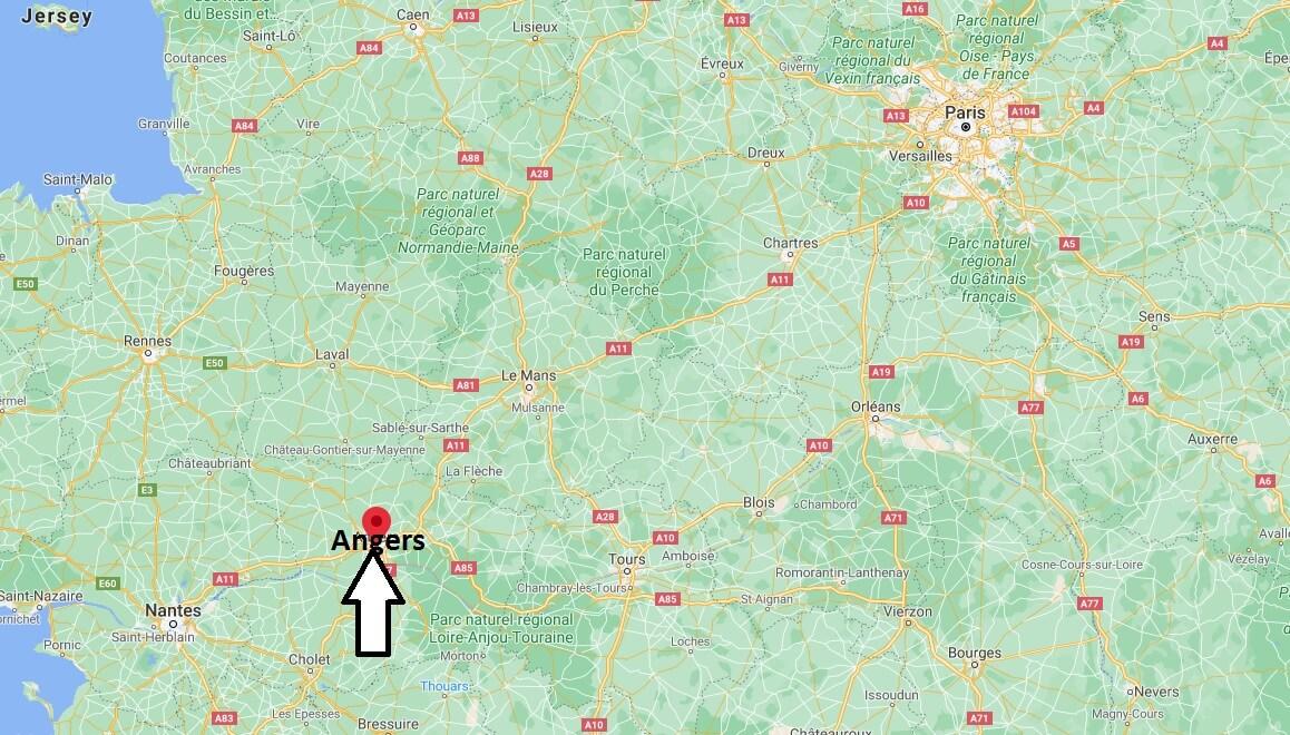 Dans quelle région se Angers