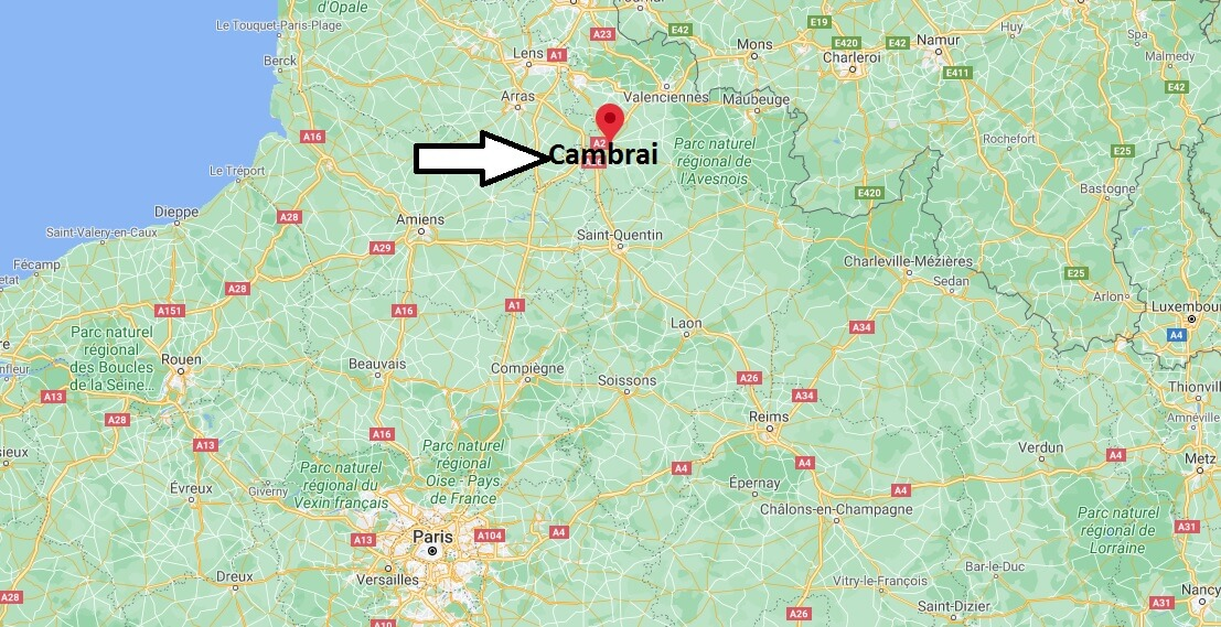 Dans quelle région se Cambrai