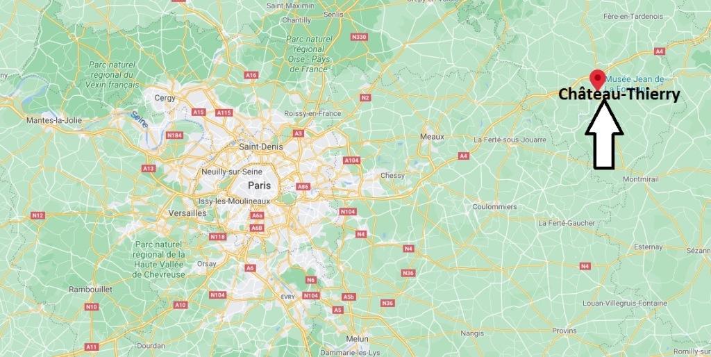 Dans quelle région se Château-Thierry