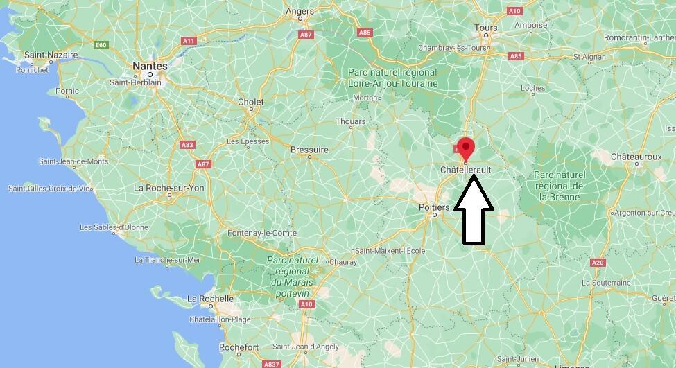 Dans quelle région se Châtellerault