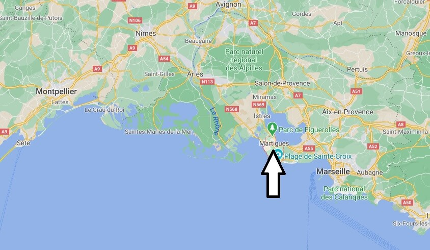 Dans quelle région se Martigues