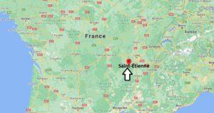 Dans quelle région se Saint-Étienne