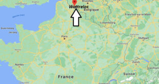 Où se Wattrelos (Code postal 59650)