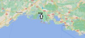 Où se situe Arles (Code postal 13004)