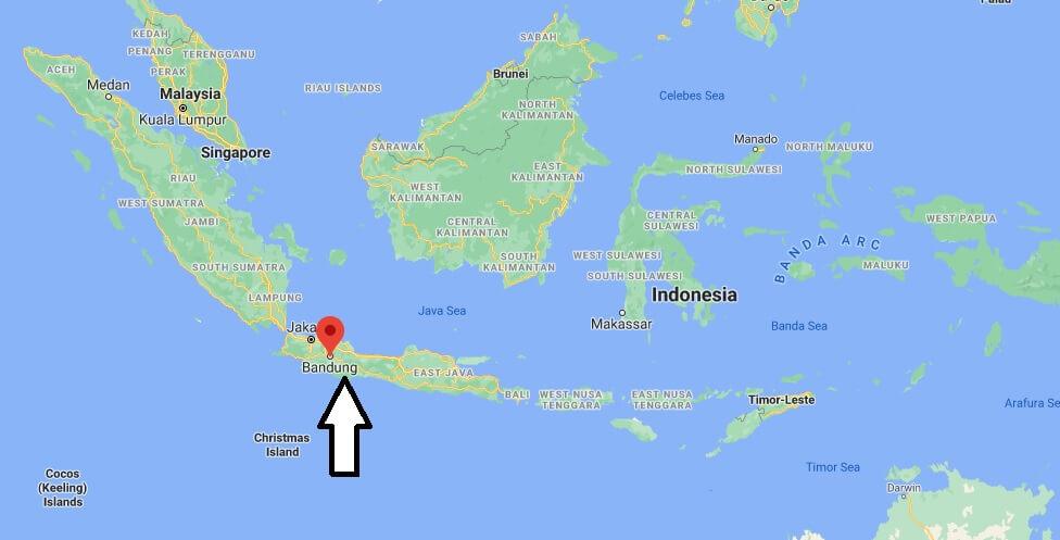 Où se situe Bandung
