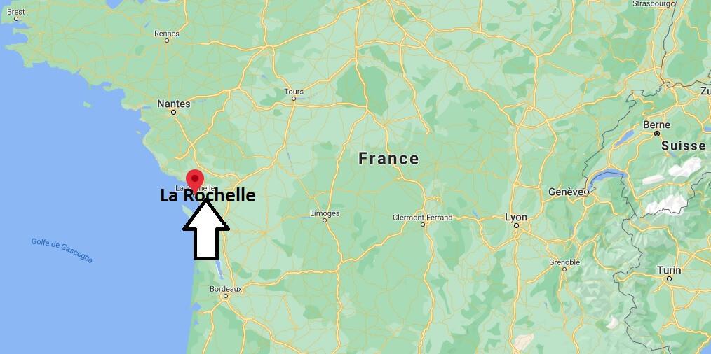 Où se situe La Rochelle (Code postal 17000)